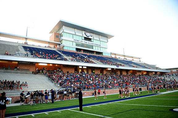 Eagle Stadium Closed for 2014-2015 School Year