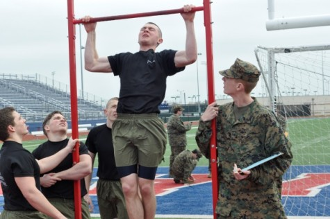 MCJROTC Competes in Drill Meet