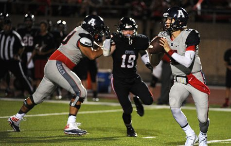 Eagles Surge Late in Road Win