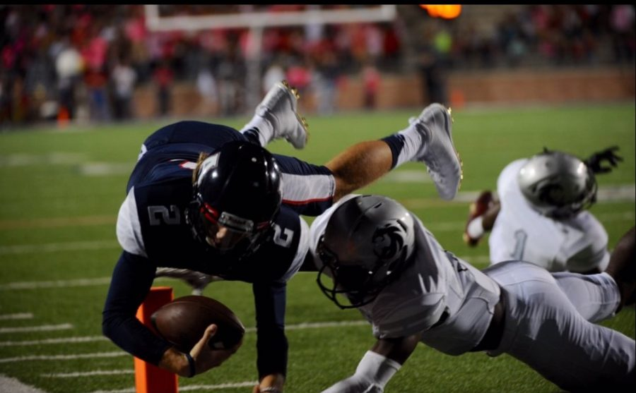 Eagles blow by district rival Denton Guyer