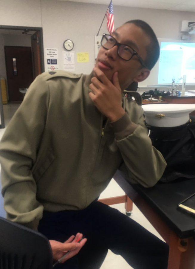 Humans of Allen: Taylor Sengsay