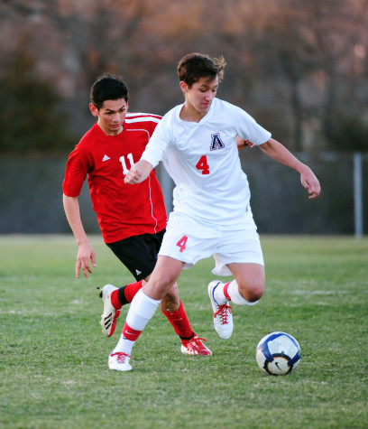 Allen vs. Garland- Boys Soccer 1-18-14