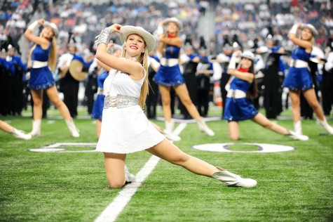 Escadrille Performs at Cowboys Game 9-22-13