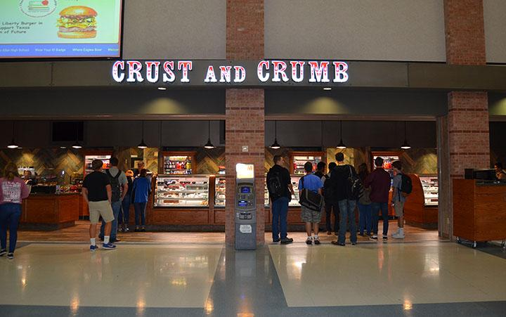 The+Crust+and+Crumb+bustling+during+lunch.+