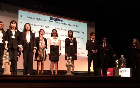 HOSA students advance to state