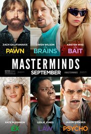 Review: 'Masterminds'