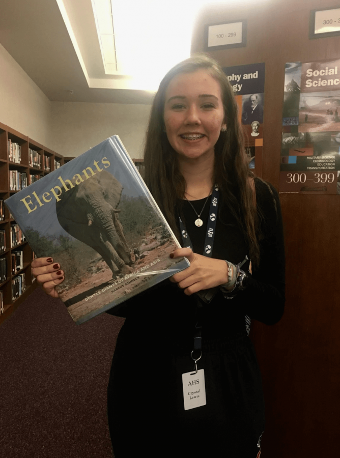 Humans of Allen: Crystal Lewis