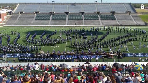 Band makes finals at UIL Area marching competition