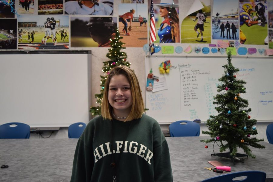 Humans of Allen: Haley Gaskill