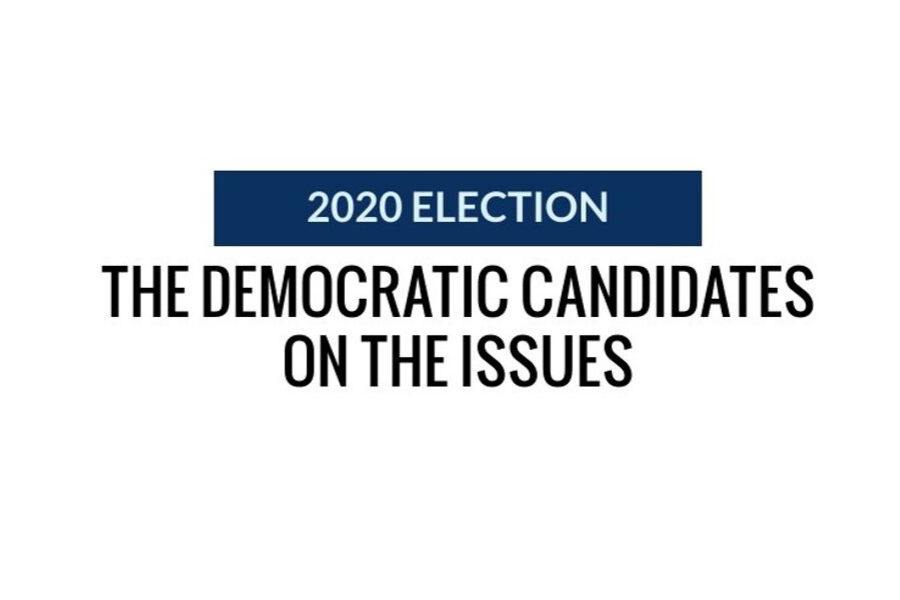 2020+Election%3A+the+Democratic+candidates+on+the+issues