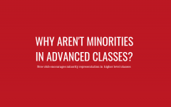 Why aren't minorities in advanced classes?