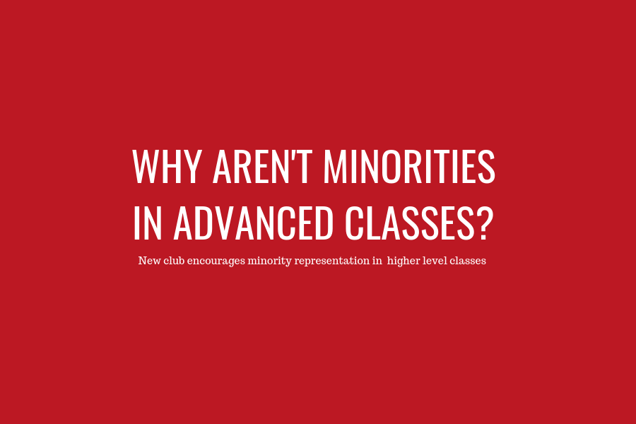 Why aren't minorities in advanced classes?