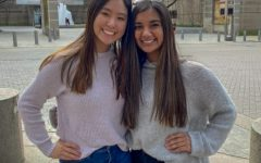 From left to right, Sunny Wang and Siya Sharma.