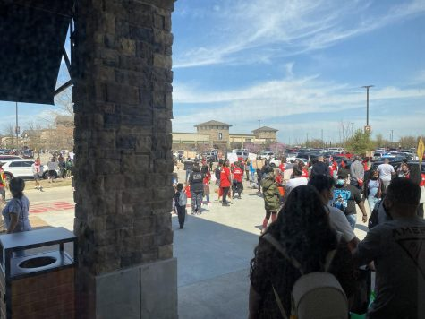 Protests over the death of Marvin Scott III at Allen Premium Outlets